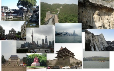 China collage