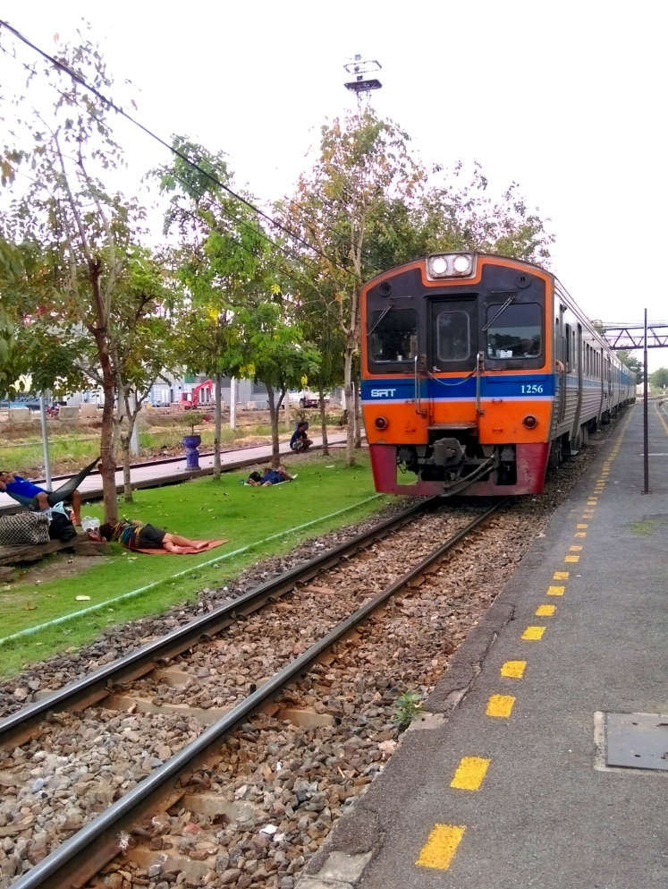 Train station, Thailand