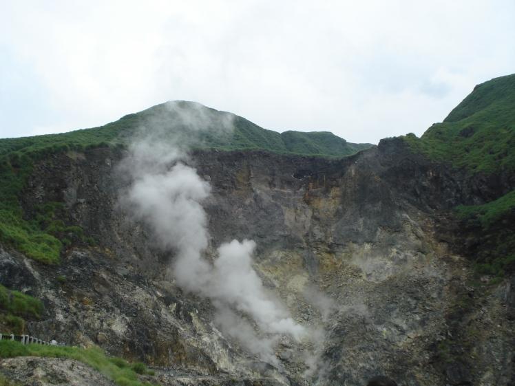Yangmingshan fumarole, Taipei